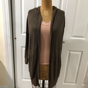 Brown cardigan Urban Outfitters